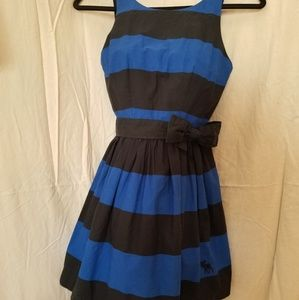 Abercrombie and Fitch  Black/ Royal Summer Dress